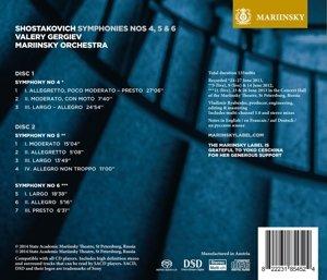 Sinfonien Nr. 4, 5 & 6