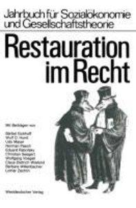 Restauration im Recht