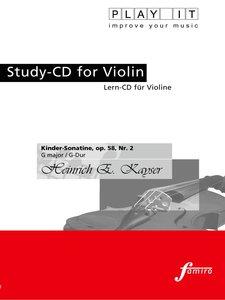 Kinder-Sonatine op. 58, Nr. 2