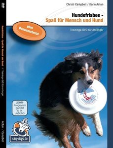 Hundefrisbee Trainings-DVD für Anfänger