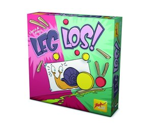 Zoch 601105060 - Leg los, Brettspiel