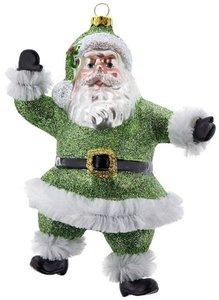 Tanzender Santa, grün