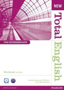 New Total English Pre-Intermediate Workbook (with Key) and Audio