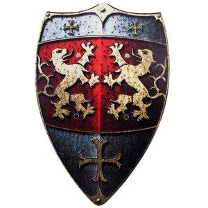 BestSaller 1164 - Ritter-Schild: Löwen