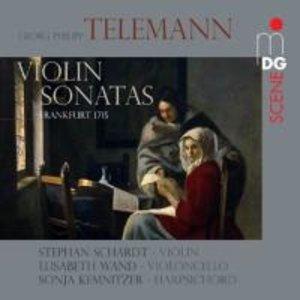 Violin Sonaten Frankfurt 1715
