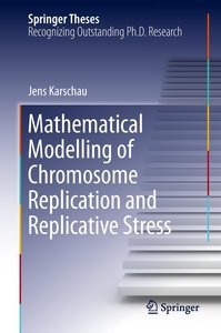 Mathematical Modelling of Chromosome Replication and Replicative