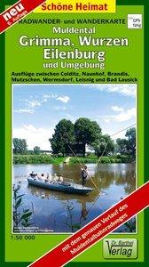 Muldental, Grimma, Wurzen, Eilenburg und Umgebung 1 : 50 000