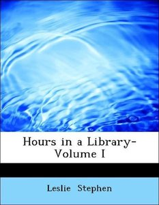 Hours in a Library- Volume I