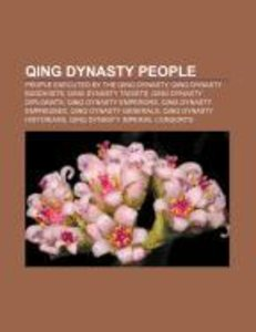 Qing Dynasty people