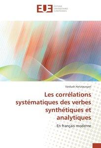 Les corrélations systématiques des verbes synthétiques et analyt