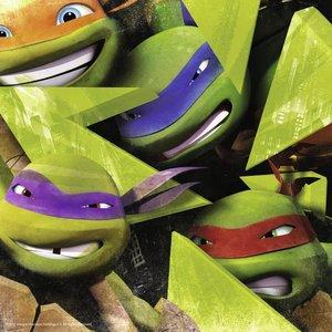 Die vier Ninja Turtles. Puzzle 3 X 49 Teile