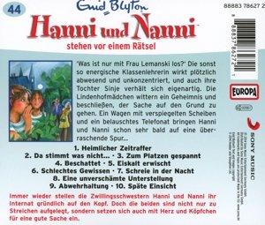 Hanni und Nanni 44. ...stehen vor einem Rätsel