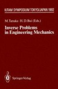 Inverse Problems in Engineering Mechanics