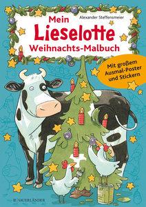 Mein Lieselotte-Weihnachts-Malbuch