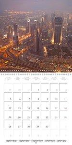 Big City Skylines (Wall Calendar 2016 300 × 300 mm Square)