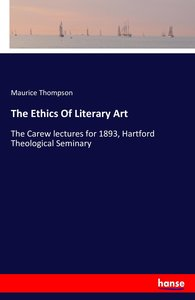 The Ethics Of Literary Art