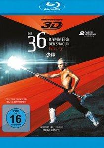 Die 36 Kammern der Shaolin-Trilogie-Blu-ray Disc