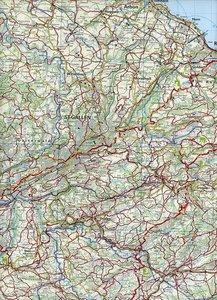 KuF Schweiz Wanderkarte 07 St. Gallen - Appenzeller Land 1 : 60