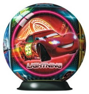 Cars Neon. 3D Puzzle-Ball 108 Teile
