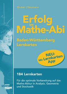 Erfolg im Mathe-Abi 2016 Lernkarten mit App Baden-Württemberg