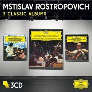 Rostropovich-3 Classic Albums (Ltd.Edt.)