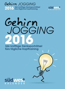 Gehirnjogging 2016 Textabreißkalender