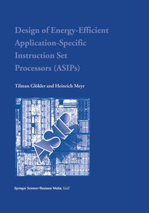 Design of Energy-Efficient Application-Specific Instruction Set