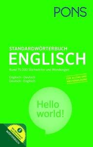 PONS Standardwörterbuch Englisch