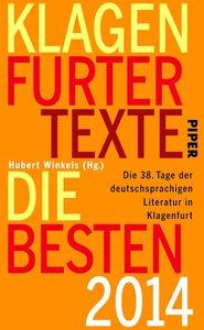 Klagenfurter Texte. Die Besten 2014