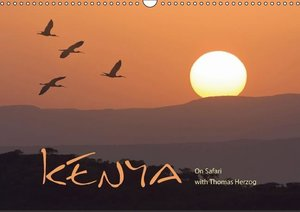 K E N Y A - UK Version (Wall Calendar 2016 DIN A3 Landscape)