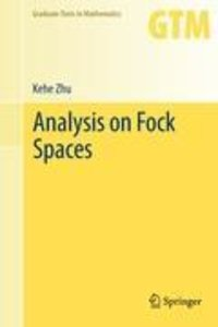 Analysis on Fock Spaces