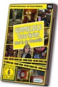 Wimmelbild: Tatortkrimi - Mord in der Gruselvilla