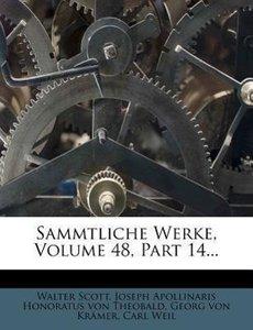 Walter Scott's sämmtliche Werke.