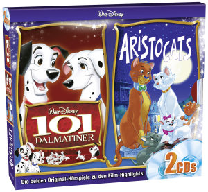 CD Box Aristocats/101 Dalmatiner