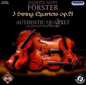 3 Streichquartette op.21