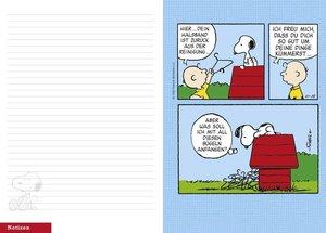 Peanuts 17-Monats-Kalenderbuch A6 - 2018