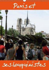 Paris et ses bouquinistes (Calendrier mural 2015 DIN A3 vertical