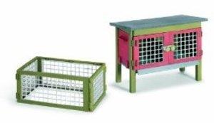 Schleich 42019 - Farm Life: Kaninchenstall