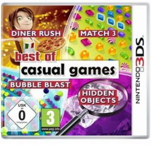 Best of Casual Games (Diner Rush / Match 3 / Bubble Blast / Hidd
