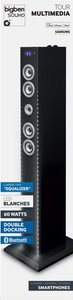 Sound Tower TW6EQ, MULTIMEDIA TOWER, Turmlautsprecher - WHITE LI