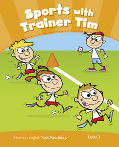 Penguin Kids 3 Sport With Trainer Tim Reader CLIL AmE