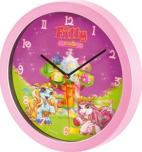 "Filly Pony - Wanduhr ""Filly Elves"""