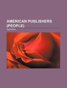 American publishers (people)