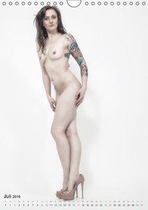 Erotik und Tattoos mit Model Shedance (Wandkalender 2016 DIN A4