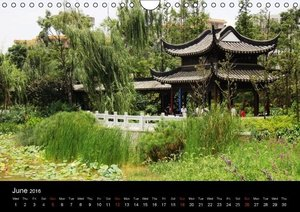 China Impressions/UK Version (Wall Calendar 2016 DIN A4 Landscap
