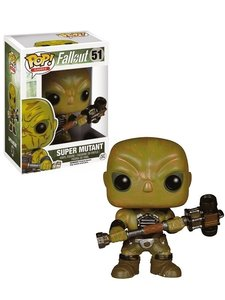 Pop! Games: Fallout - Super Mutant (51) - Bobblehead-Figur