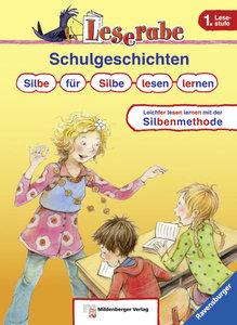 Leserabe Sonderband. Lesestufe 1. Schulgeschichten