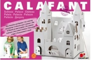Calafant D2502X - Schloss, Bastelset, LEVEL 3, 45x34x45,5 cm