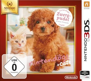 Nintendogs + Cats: Zwerg Pudel & Neue Freunde (Nintendo Selects)