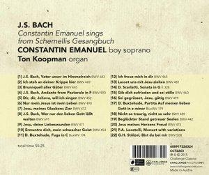 Constantin Emanuel sings from Schemellis Gesangbuc